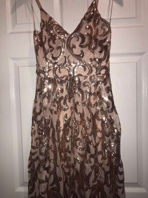 Blush Pink Sequence Prom Dress for Sale in Oberlin, OH