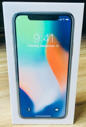 Apple iPhone X Authentic Unlocked Factory Sealed New With Receipt for Sale in Chicago, IL