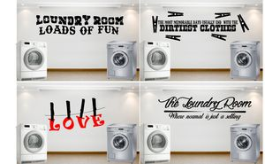 loundry room decor , stickers , decals , metal wall art for Sale in Houston, TX