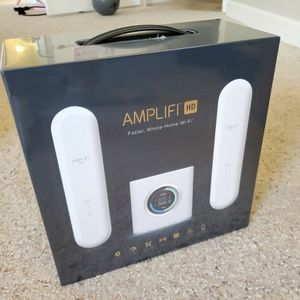 Ubiquiti Amplifi AmplifiHD Dual Band Wifi Mesh System Router 802.11ac *NEW* for Sale in Bradenton, FL