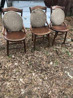 3 antique chairs for Sale in Aldie, VA