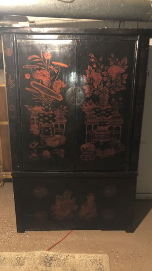 Oriental cabinet 72 inches tall 48 inches wide 24 inches deep for Sale in Cleveland, OH