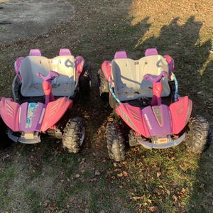 Power Wheels Dune Racer Pink x2 for Sale in Stratford, NJ