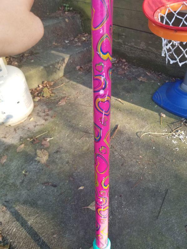 Girls pogo stick