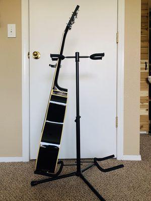 Gater FrameWorks Adjustable Double Guitar Stand Black Matte for Sale in Keizer, OR