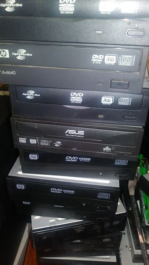 Lot of 10 used dvd r dl double layer SATA for Sale in Houston, TX