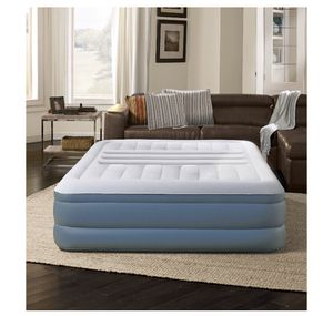 "Beautyrest Queen 18"" Lumbar Lux Raised Air Mattress with Internal Pump, 1 Each, Queen, 12A-1958 for Sale in St. Louis, MO"