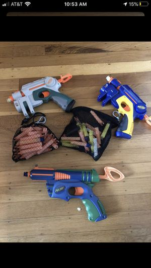 Nerf Guns and Juggling Sticks for Sale in Portland, OR