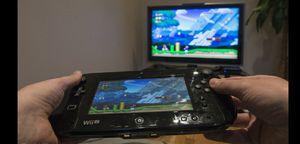 Nintendo Wii U Deluxe Set: Super Mario 3D World and Nintendo Land Bundle - Black 32 GB for Sale in Baytown, TX