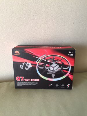 EE Q7 Mini Drone for Kids Beginners,RC Helicopter Quadcopter with Altitude Hold,Neno Light,3 Batteries and Remote Control,Kids Gifts Toys for Boys Gi for Sale in San Francisco, CA