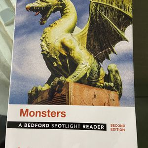 Monsters Textbook for Sale in Garden Grove, CA