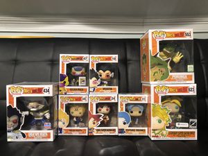 Dragonball Z Funko Pop Collection for Sale in Union, NJ