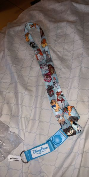 DISNEYLAND PARKS OFFICIAL DISNEY PETS PIN LANYARD for Sale in Norco, CA