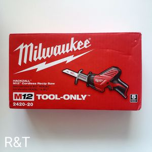 Milwaukee m12 hackzall TOOL ONLY for Sale in Fullerton, CA