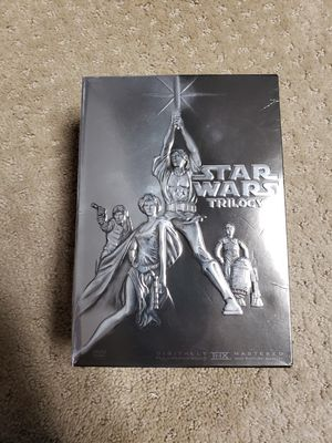 Star Wars Trilogy DVD 4 disc set for Sale in Plainfield, IL
