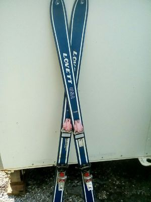 Vintage Lovett snow skis for Sale in Knoxville, TN