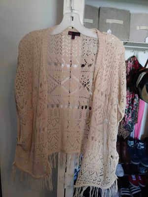 Cream Cardigan for Sale in Spring Hill, FL