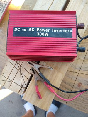 DC to AC power inverter 300 w for Sale in Lakewood, CA
