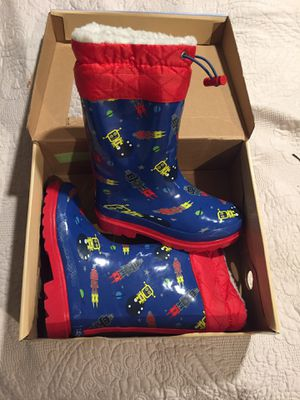 Kids rain boots size 11/12 for Sale in Fort Worth, TX