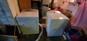 Kenmore top loading washer and gas powered dryer for sale. $500 for the set for Sale in San Francisco, CA