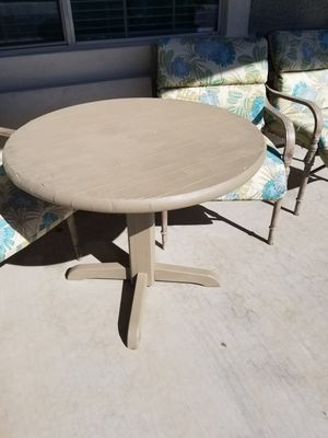 Wood table and chairs for Sale in Sun City, AZ