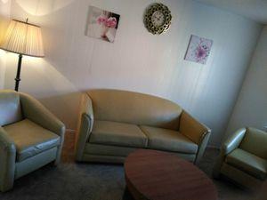 Sofa and table and chairs. for Sale in Bay Lake, FL