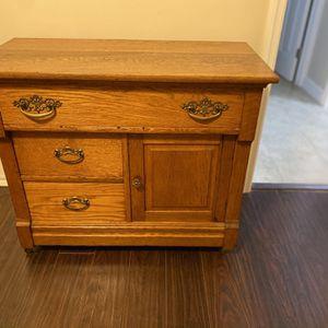 Antique Wood Decorative Cabinet for Sale in Pompano Beach, FL