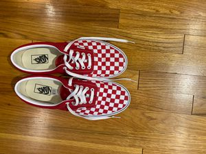 Red and White Checkered Vans for Sale in Pittsburgh, PA