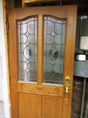 """Solid Wood Door"" Must Go! for Sale in St. Louis, MO"