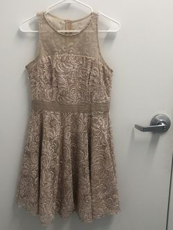 Nude/pink Lace Dress for Sale in Highland,  MD