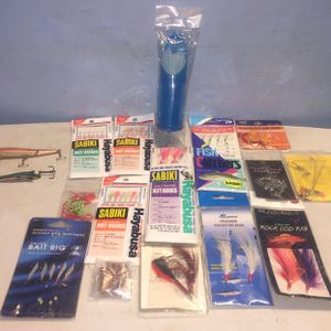 Fishing Hooks / New / Different Sizes !!! / Fishing Set / Fishing Bundle for Sale in Rosemead, CA