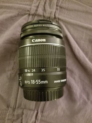 Canon 18-55mm EFS Lense for Sale in Fullerton, CA
