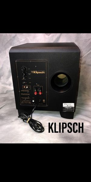 Klipsch 12 inch self powered sub for Sale in Martinez, CA
