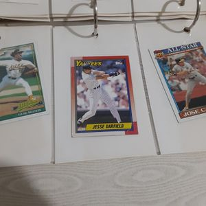 Variety Of Old Topps Baseball Cards for Sale in St. Petersburg, FL