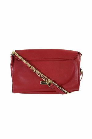 INC International Concepts Womens Gwenn Faux Leather Colorblock Shoulder Handbag Red Small for Sale in Virginia Beach, VA
