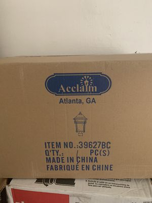 Acclaim lighting for Sale in Riverview, FL