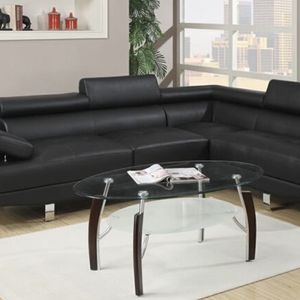 Brand New Black Sectional In The Box- Free Delivery - for Sale in Atlanta, GA