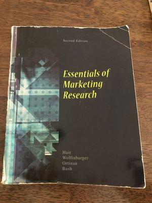 Essentials of Marketing Research for Sale in Byron, CA