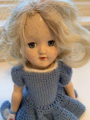 Antique doll in rollerskates rolling eyes for Sale in Seattle, WA