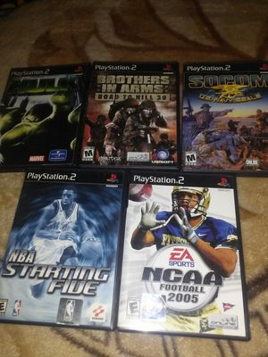 Ps2. Games for Sale in Lodi, CA