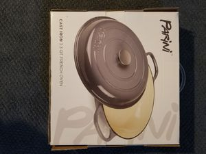 Cast iron pan with lid ***new for Sale in Severn, MD