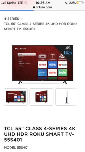 55 inch tv for Sale in Newark, OH
