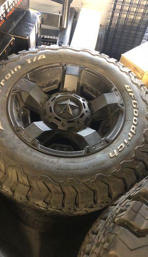 Jeep Wrangler wheels tires for Sale in Glendale, CA
