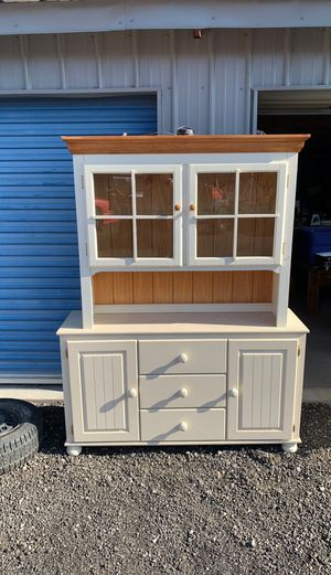 Wood cabinet two pieces for Sale in Prineville, OR