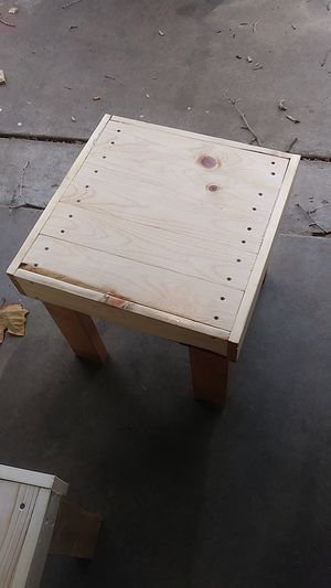 Hand made side table for Sale in Wichita, KS