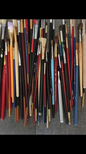 Paint brushes $1 each for Sale in Carmichael, CA