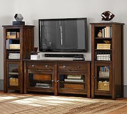 Poterrybarn coffee table. Side table. Tv stand. Bookshelves for Sale in Chicago, IL