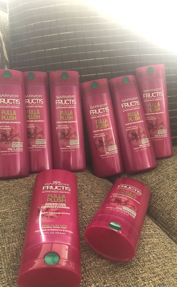 8 Bottles of Garner Fructis. Please see all the pictures and read the description