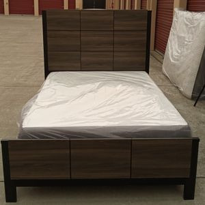 MODERN DARK WOOD COLORED TWIN BED! for Sale in Fairfield, CA