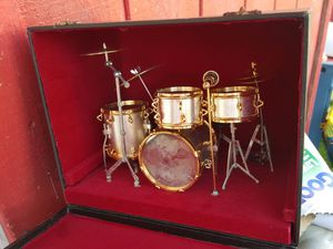 Model Minature drum set in a box. for Sale in Daly City, CA